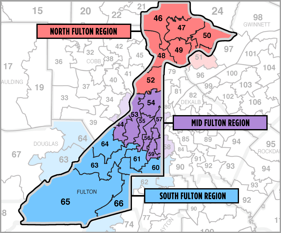 Find Your Region | Fulton County Democrats