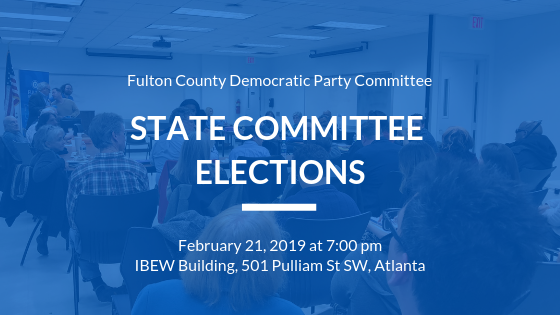 State Committee Member Elections Coming on February 21