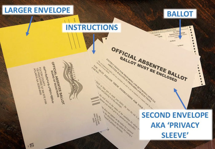 Your Absentee Ballot Package